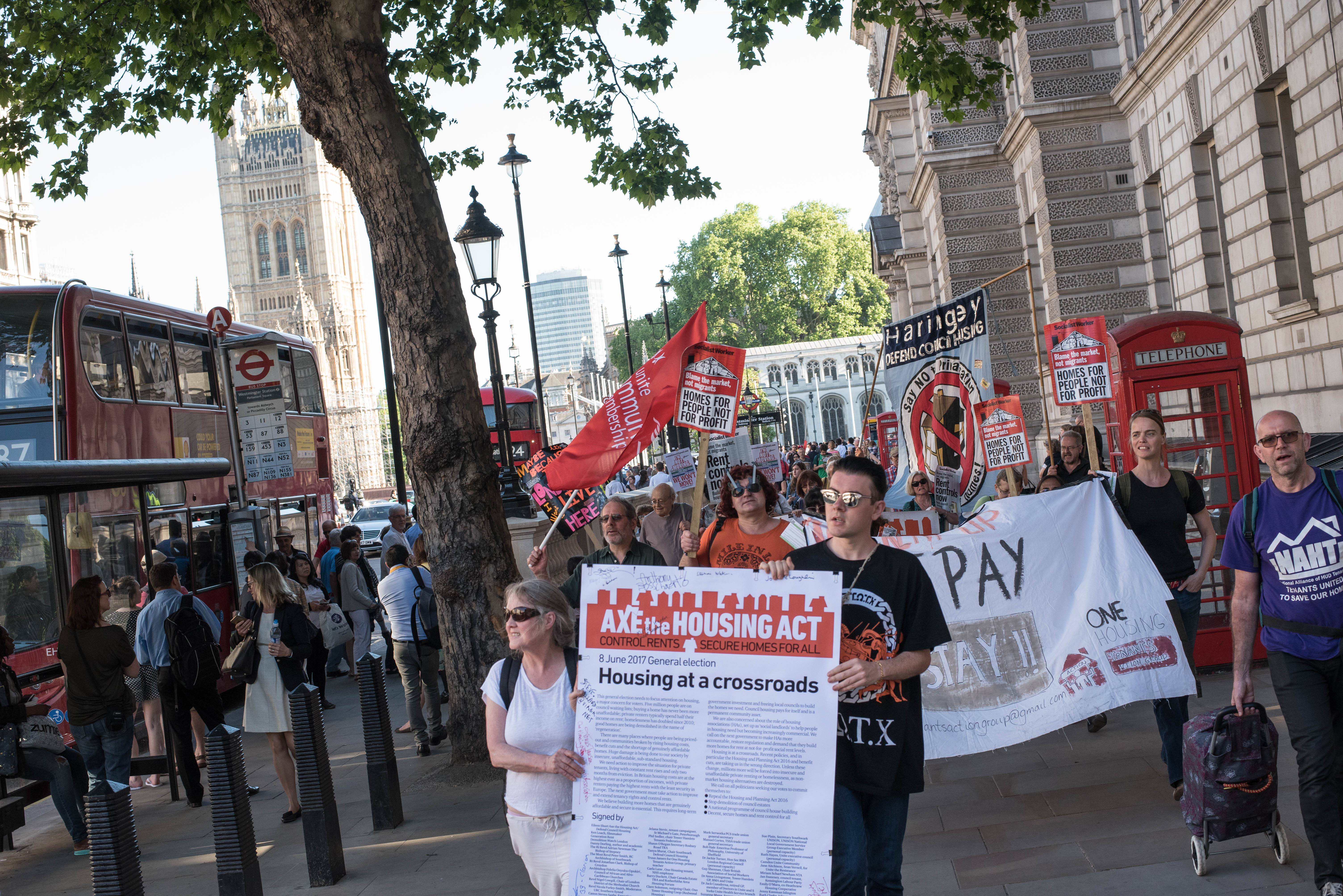 March to 10 Downing Street 25May17