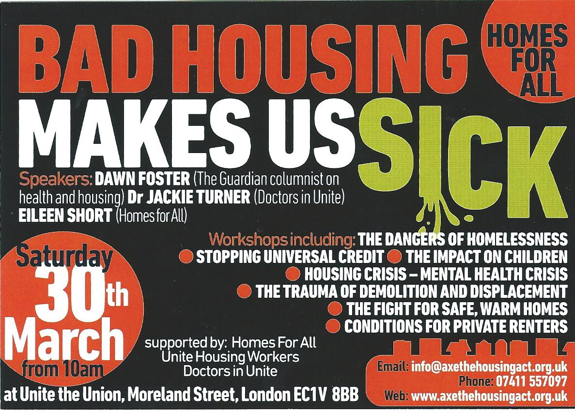 Bad Housing Makes Us Sick